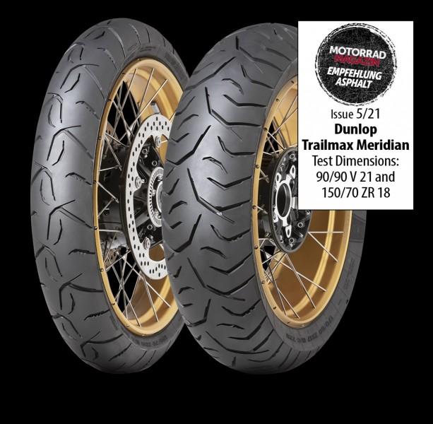 Dunlop Trailmax Meridian tyre 2021